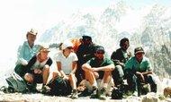 На перевале Тавасанг